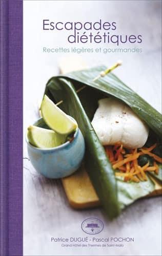 Livre de cuisine des chefs du restaurant Le Cap-Horn à Saint-Malo