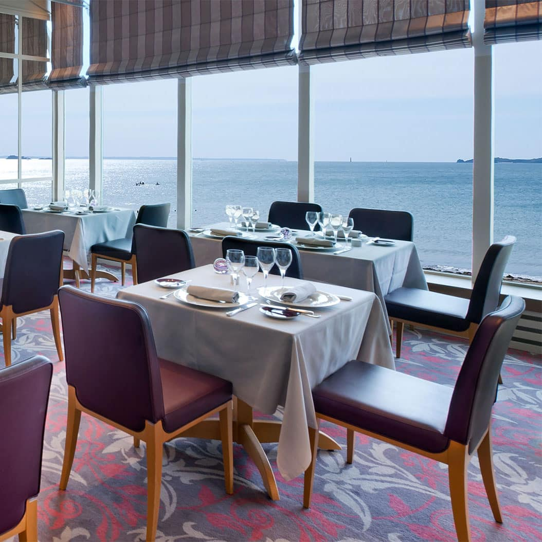 Restaurant avec vue mer